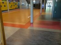 In de zomervakantie 2009 is een nieuwe hal gelegd in het Montessori College aan de Sloetsweg in Hengelo.