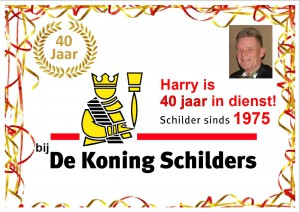 Harry40jaarDeKoning