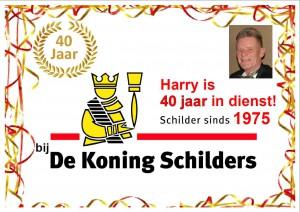 Harry40jaarDeKoning