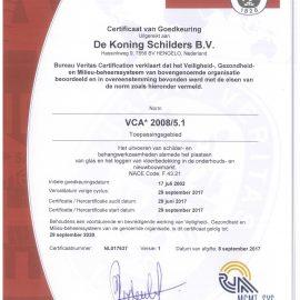 VCA-certificering weer positief getoetst!